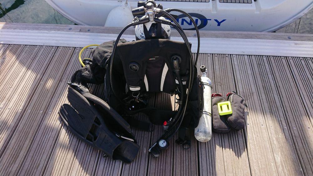 Scub Diving Kit
